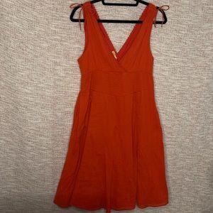 Anthropologie [Maeve] Midi Sun Summer Dress